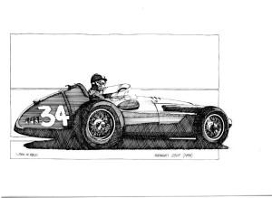 1958 maserati 250f
