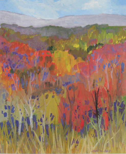 colour in the hills